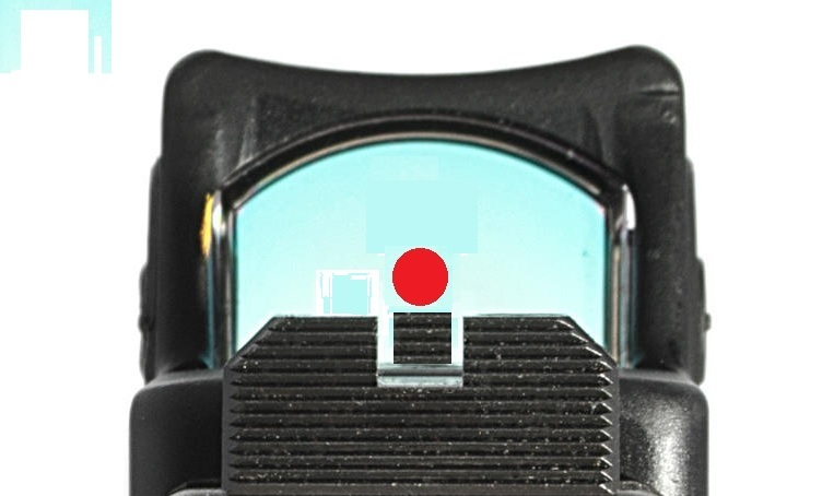 PISTOL SIGHTS & OPTICS - SIGHTS FOR GLOCKS - LOWER COWITNESS