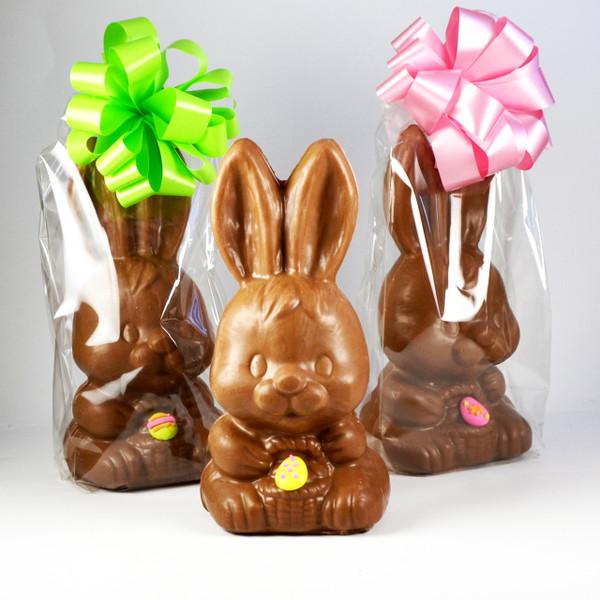Big Head Chocolate Bunny
