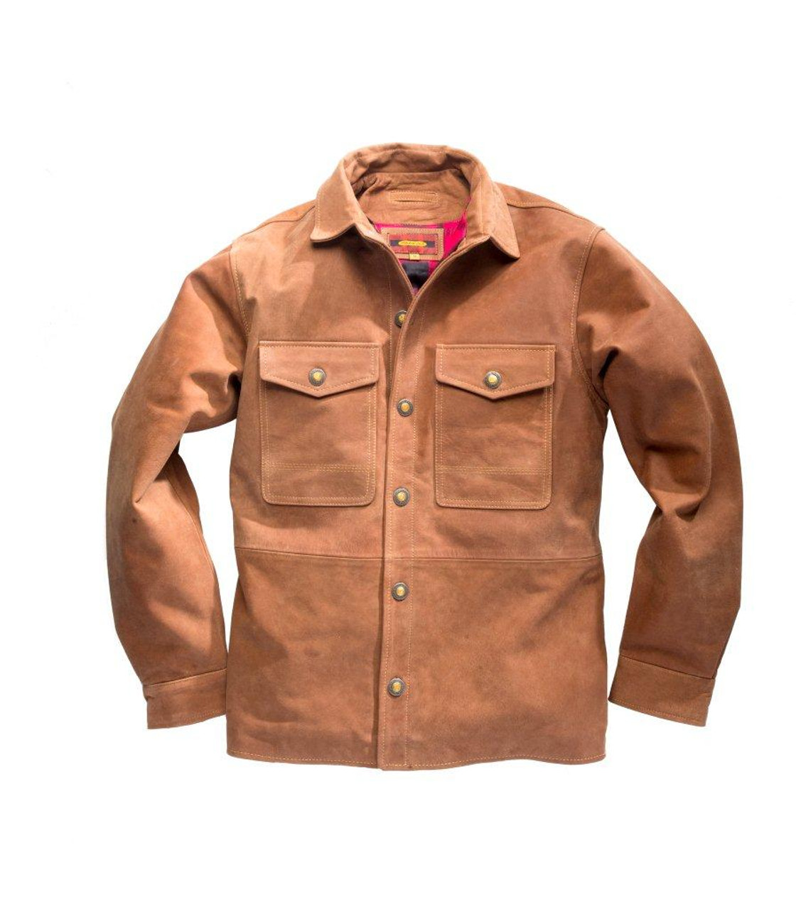 Cumberland Buffalo Nubuck Over Shirt - Cognoc