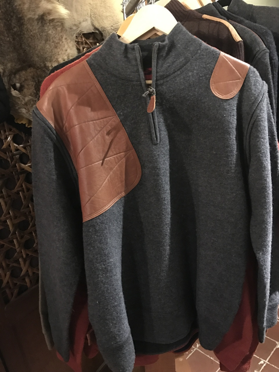 Artemis Sweater Charcoal Gray - 30% OFF