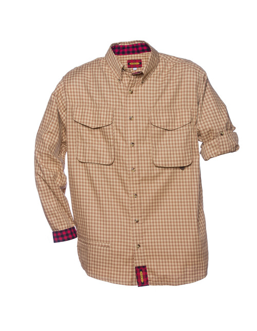Exventurer - Butterscotch Bold Check