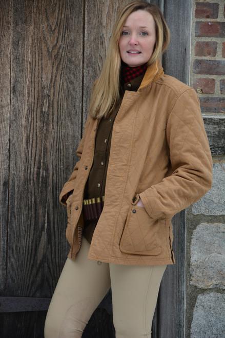 Women's Exventurer Moleskin Jacket - Camel
