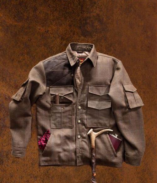 Ghillies Jacket - Tweed Wool