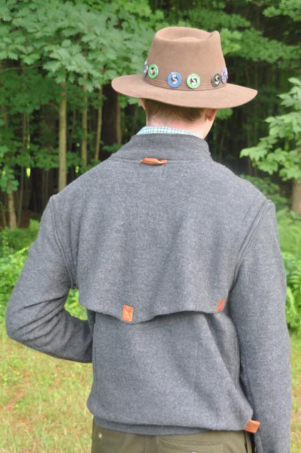 AvieMoor Sweater - Charcoal Melange - 30% OFF