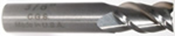 3 flute solid carbide end mills are ideal for rough and finish milling in a large range of materials. These end mills can be used in slotting, profile, plunge and side wall milling. Designed with an industry standard 45° degree helix and precision cutting edges these end mills will perform above the competition.