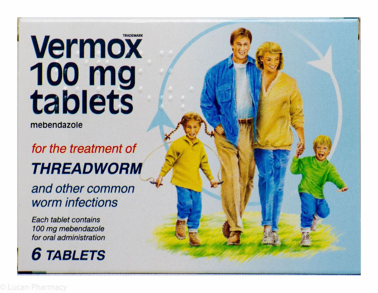 Vermox tablets: instructions for use 4