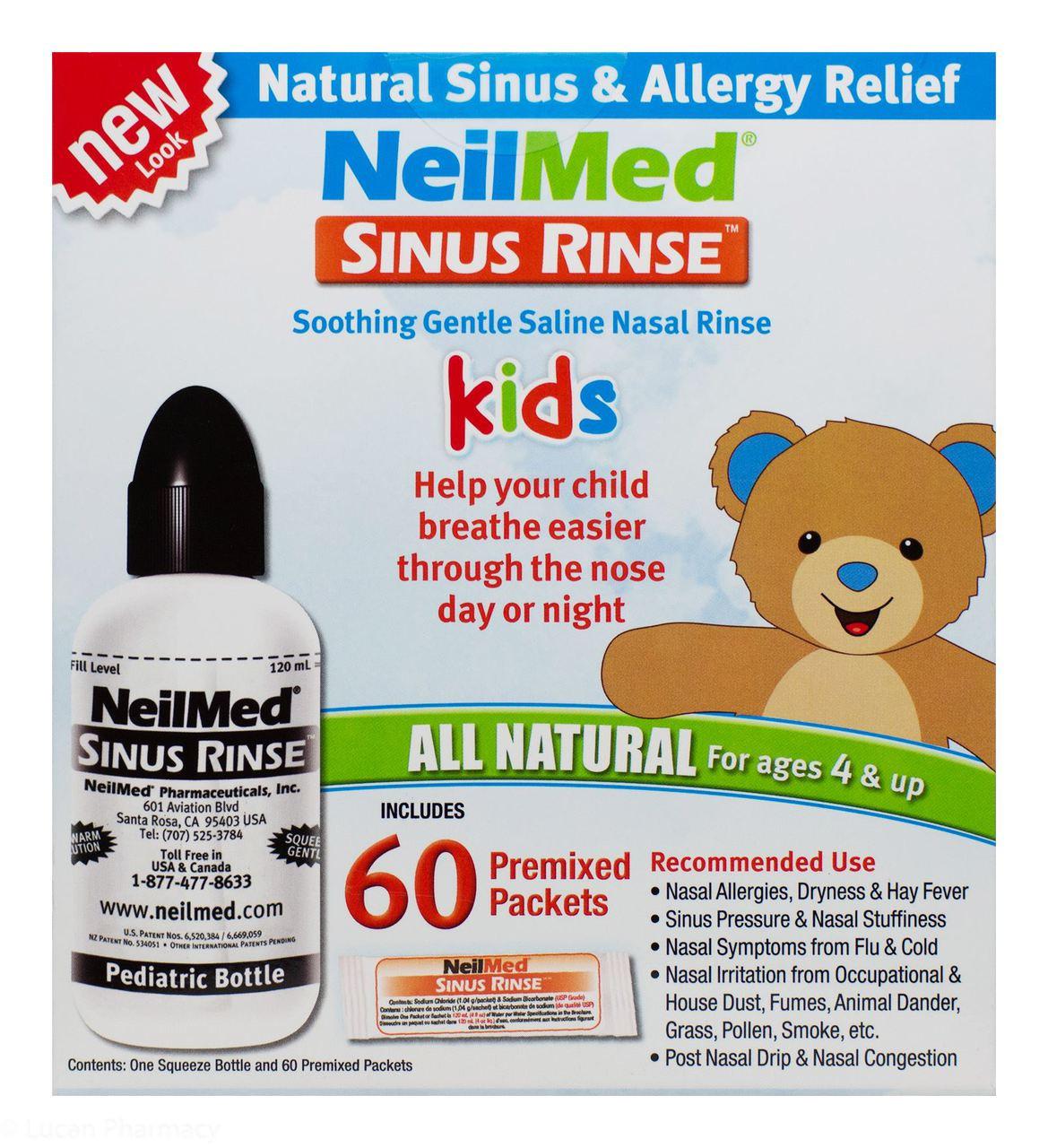how to clean neilmed sinus rinse bottle