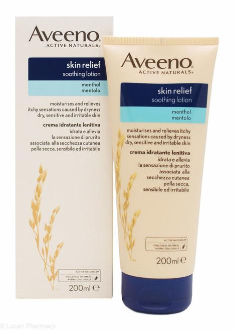 Aveeno 174 Active Naturals Cooling Menthol Moisturising