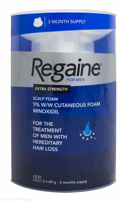 Regaine® Extra Strength Scalp Foam 73ml - 3 Month Supply
