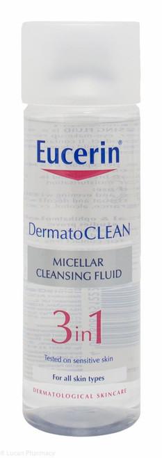 Eucerin® DermatoCLEAN 3 in 1 Micellar Cleansing Fluid – 200ml