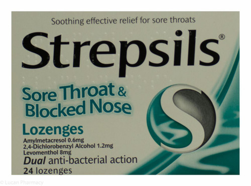 Strepsils Strefen Honey & Lemon Lozenges
