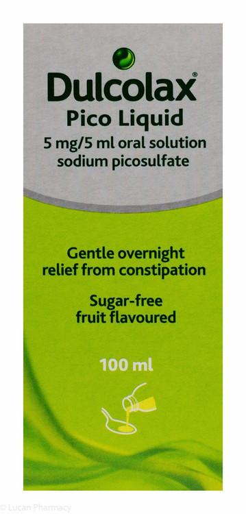Dulcolax Pico Liquid 5mg5ml Oral Solution 100ml P Lucan