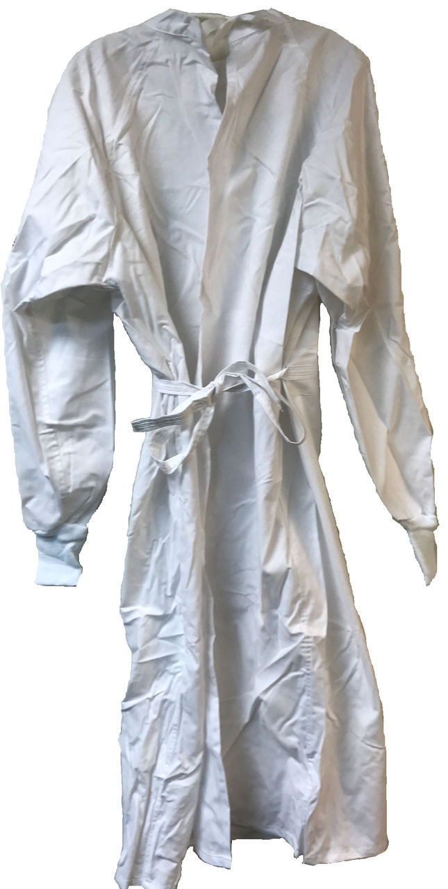 Military Issue White Cotton Surgical Operating Gown Large - Army ...