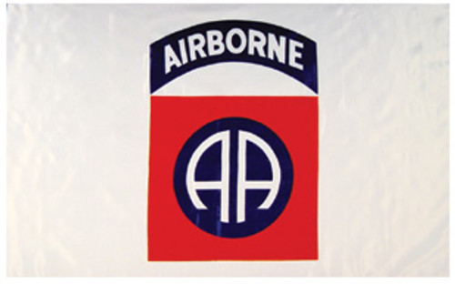 82nd Airborne White Flag