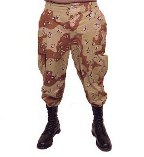 6-Color Desert BDU Pants