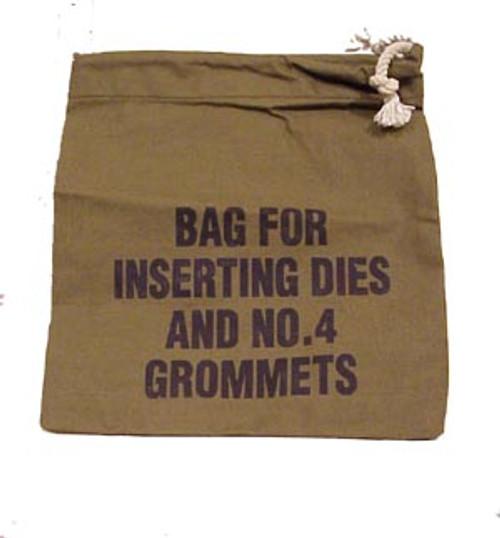 Bag for Inserting Dies & Grommets