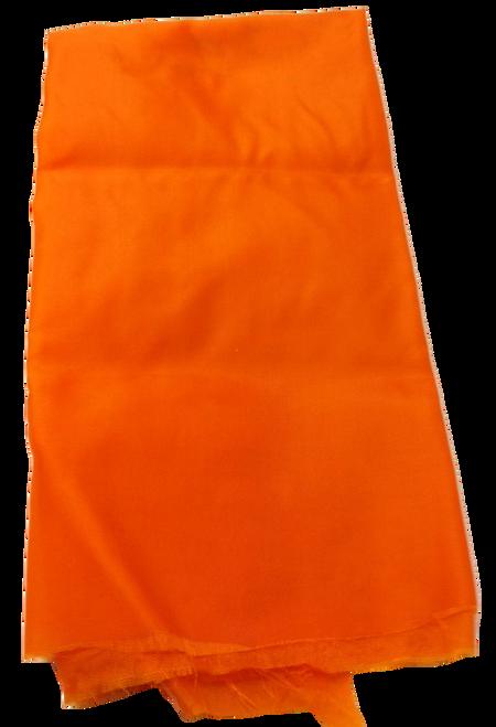 Neon Orange Parachute Material by the running yard