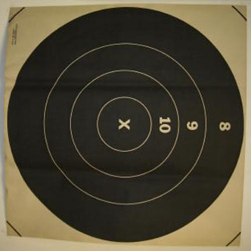 1000 Yard Bullseye Rifle Target 1 case