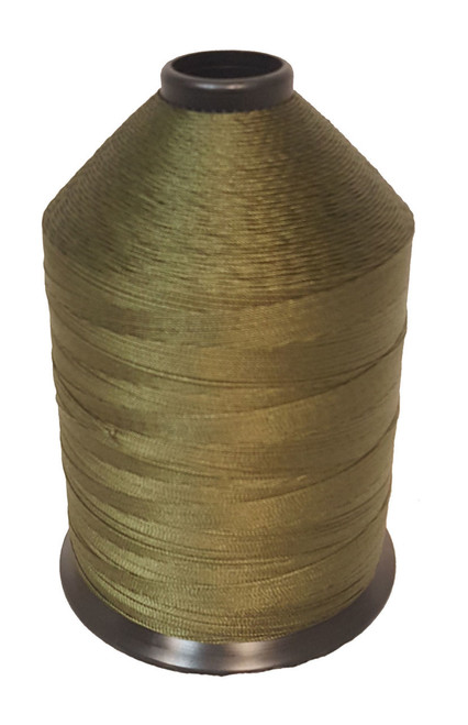 Military Issue Nylon OD Thread 1 lb Spool