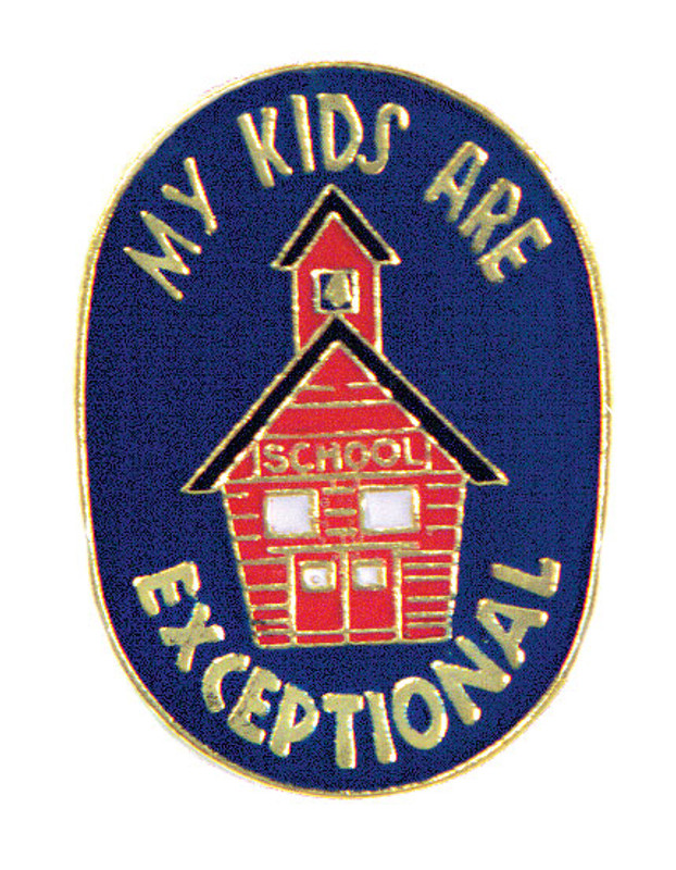 My Kids are Exceptional Lapel Pin