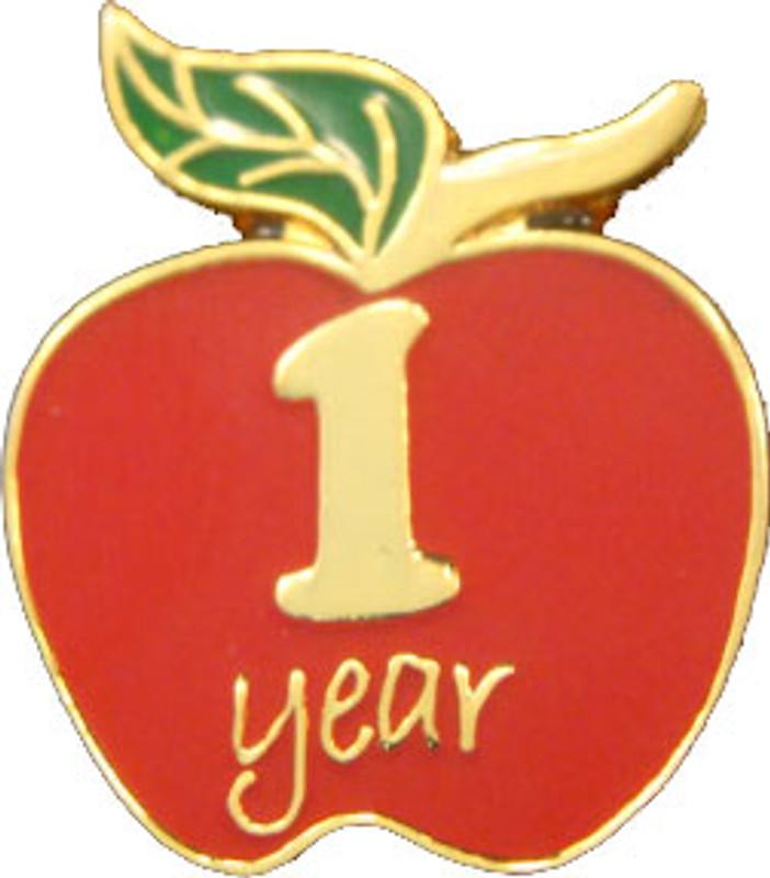 YOS (1) Apple Lapel Pin