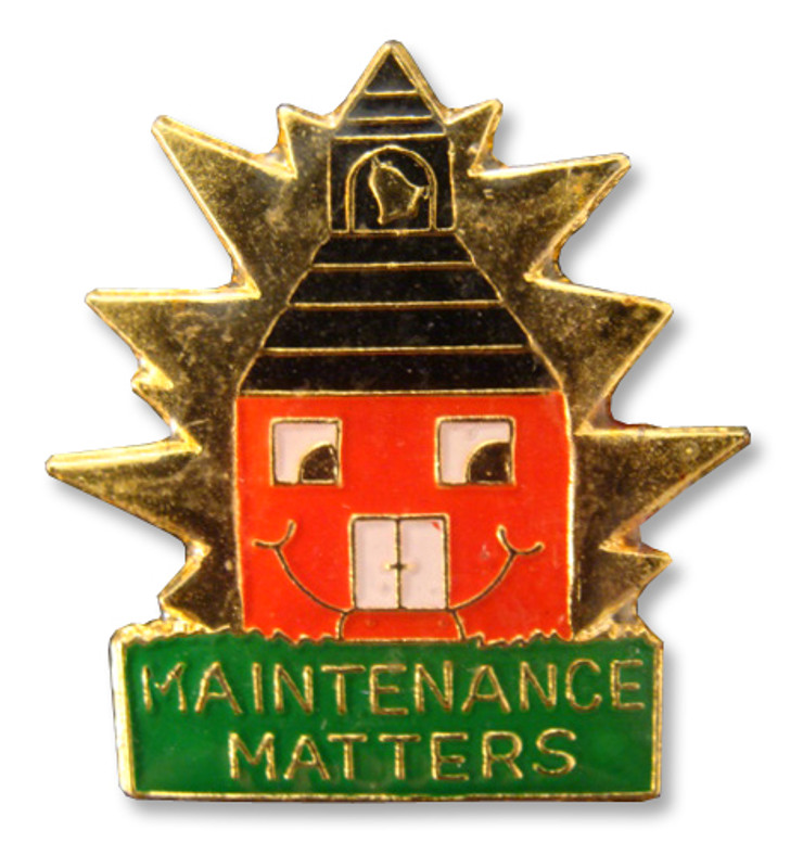 Maintenance Matters Lapel Pin