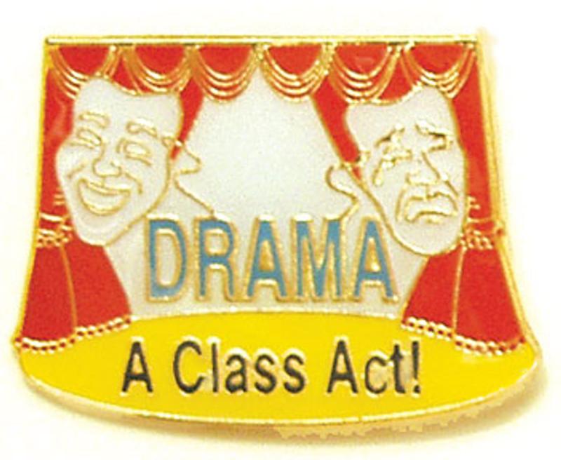 Drama A class Act! Lapel Pin