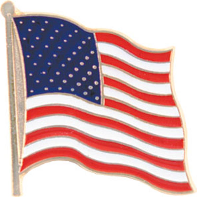 US Flag Lapel Pin