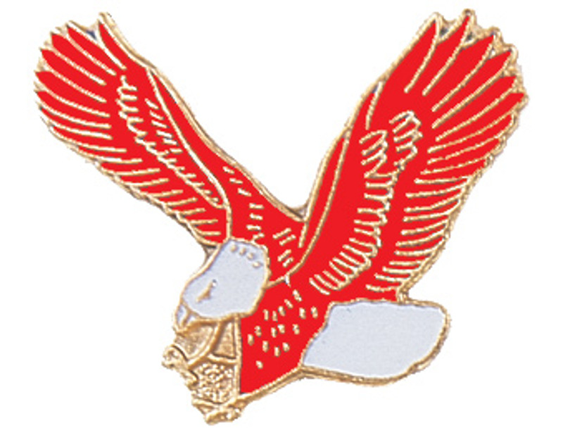 Eagle (Red) Lapel Pin