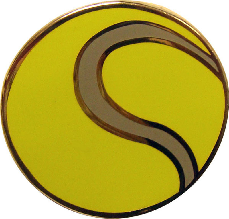 Tennis Ball Lapel Pin