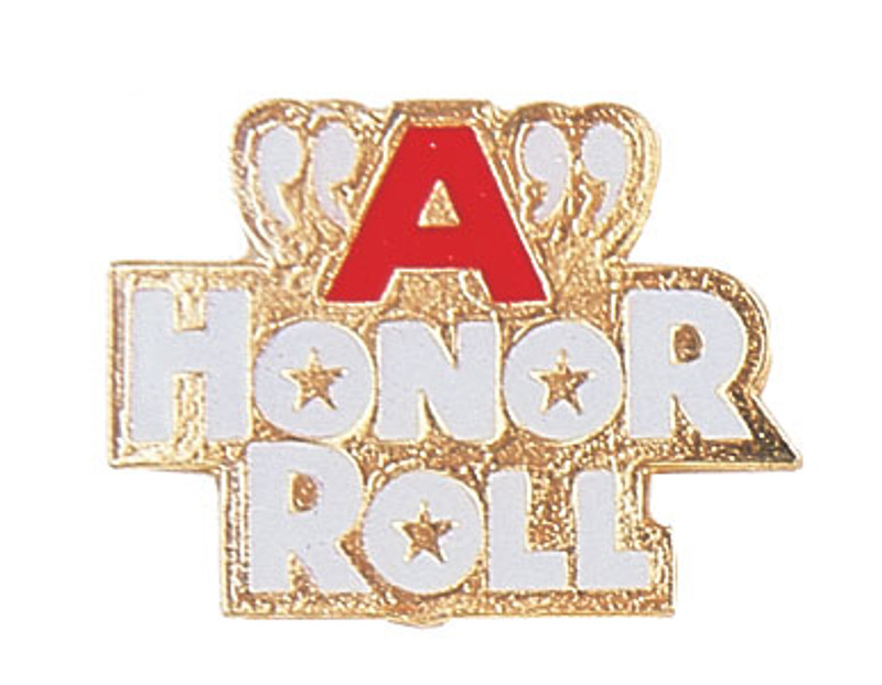 A Honor Roll Lapel Pin