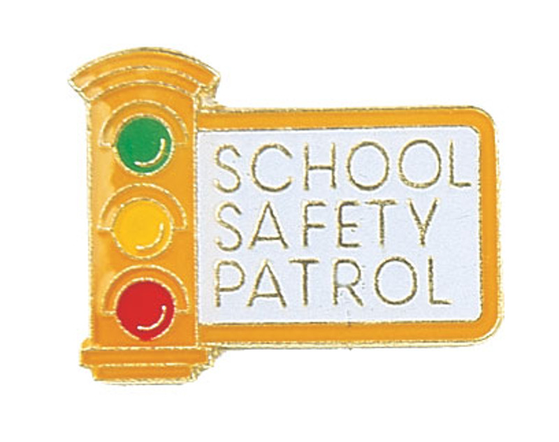School Safety Patrol Lapel Pin