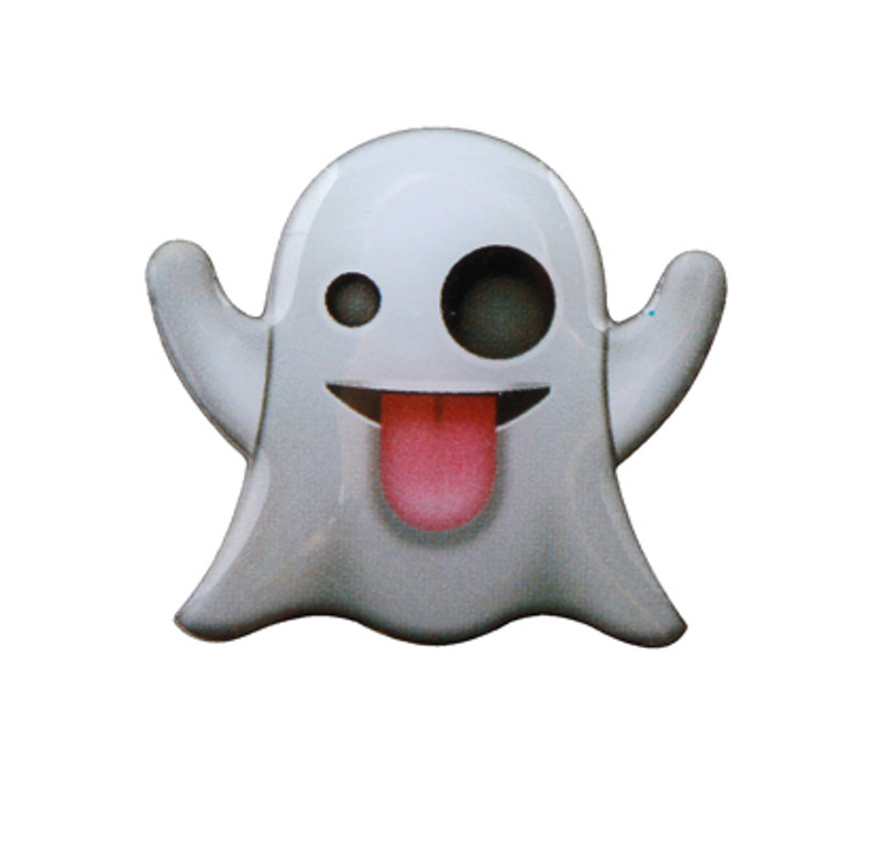 Ghost Emoji Lapel Pin