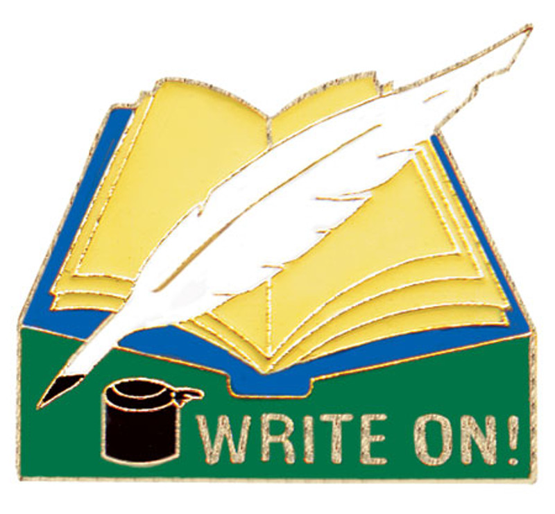 Write On Lapel Pin
