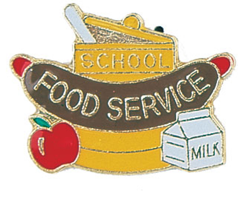 Food Service Lapel Pin