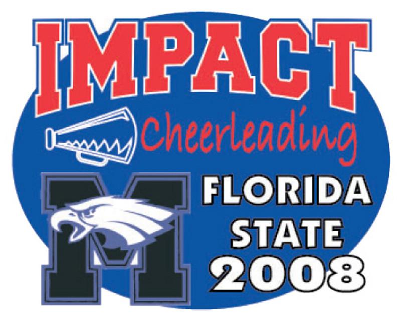 IMPACT Cheerleading Florida State 2008 Lapel Pin