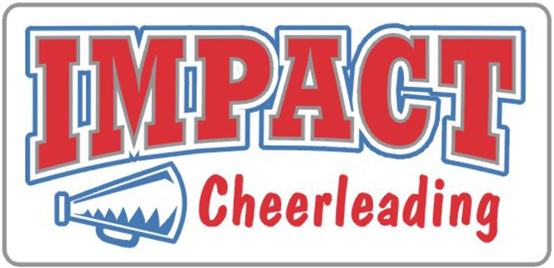 IMPACT Cheerleading Lapel Pin