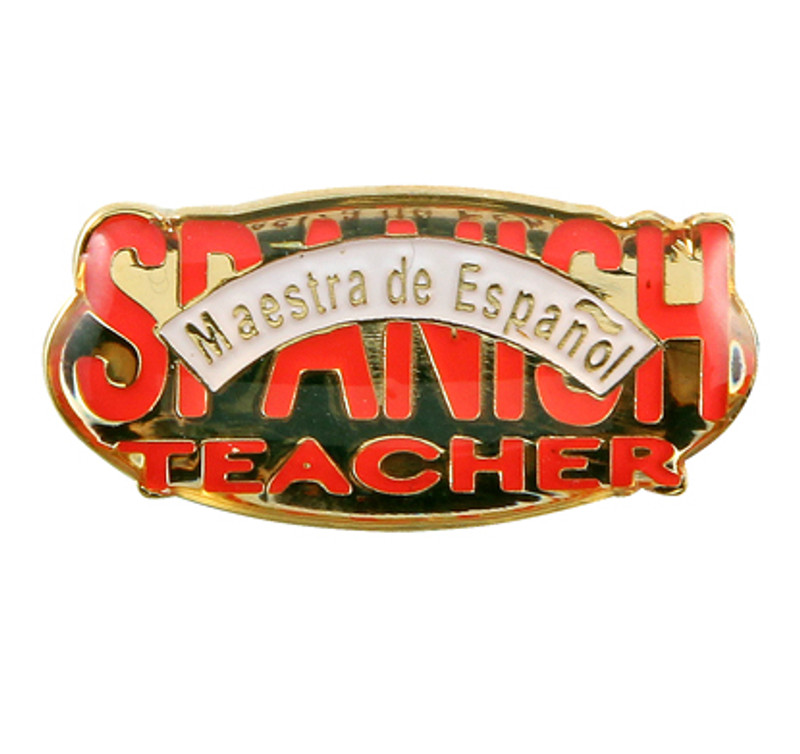 Spanish Teacher Lapel Pin