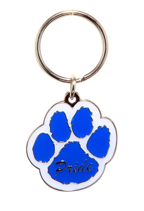 Paw Pride Key Ring (blue/white)