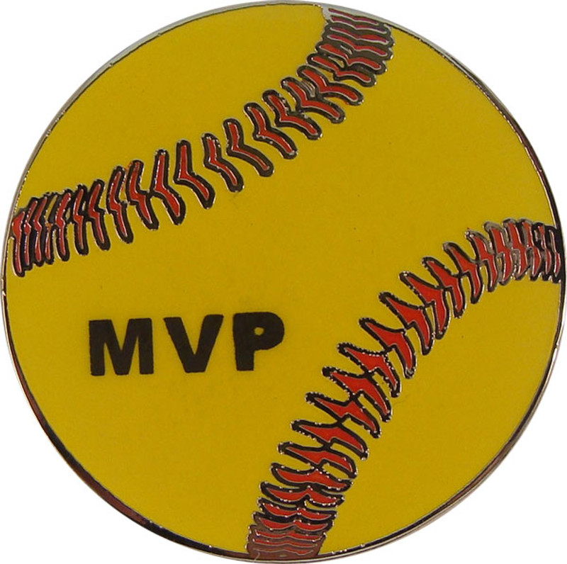 Softball - MVP Lapel Pin