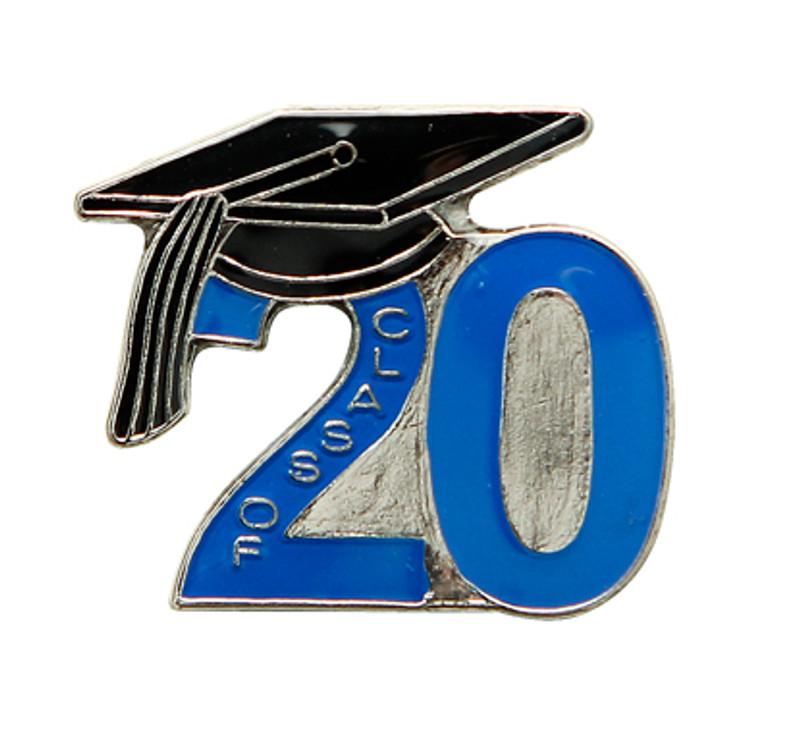 Class of '20 Blue (Nickel Plate)