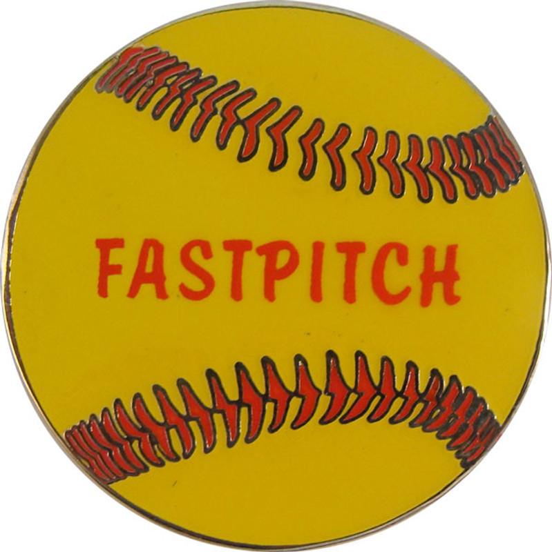 Softball - FASTPITCH Lapel Pin
