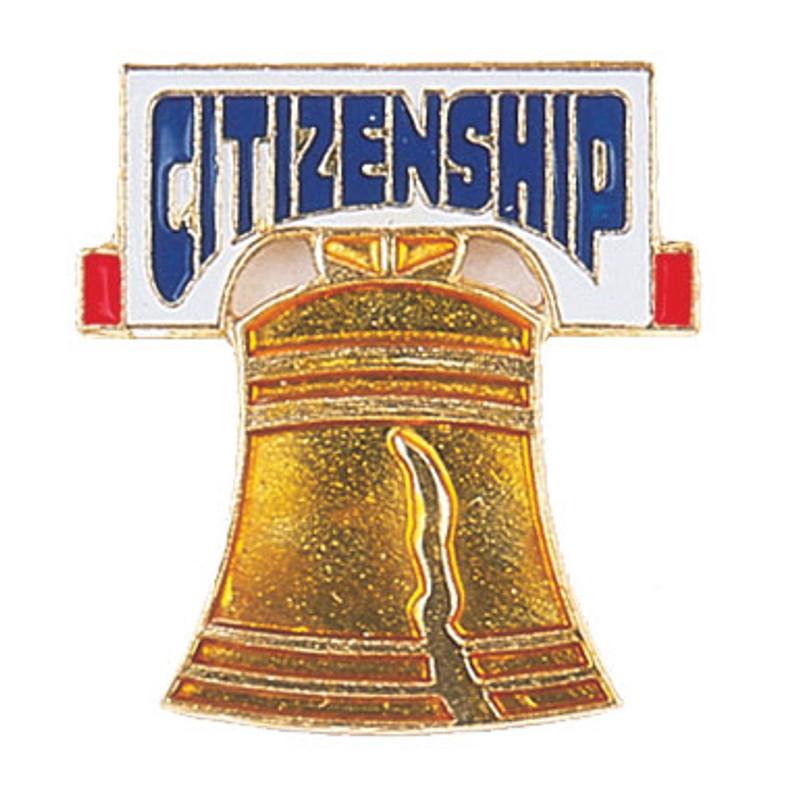 Citizenship Lapel Pin