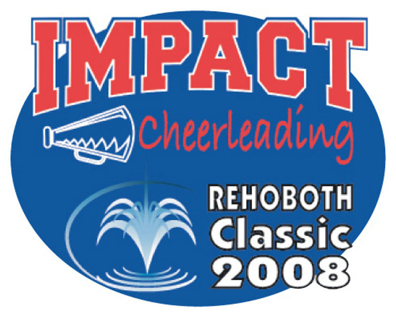 IMPACT Cheerleading Rehoboth Classic 2008 Lapel Pin