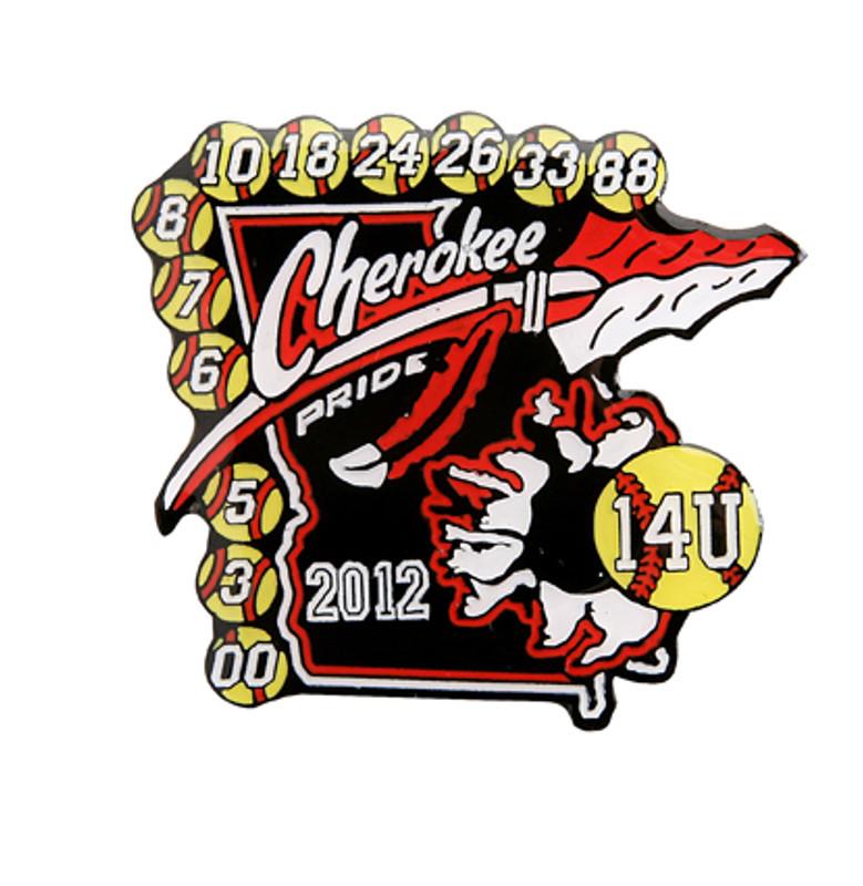 Cherokee Pride 14U 2012 Softball