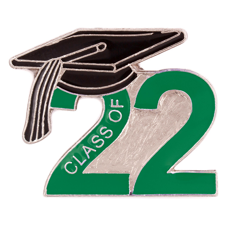 Class of 2022 Green Lapel Pin