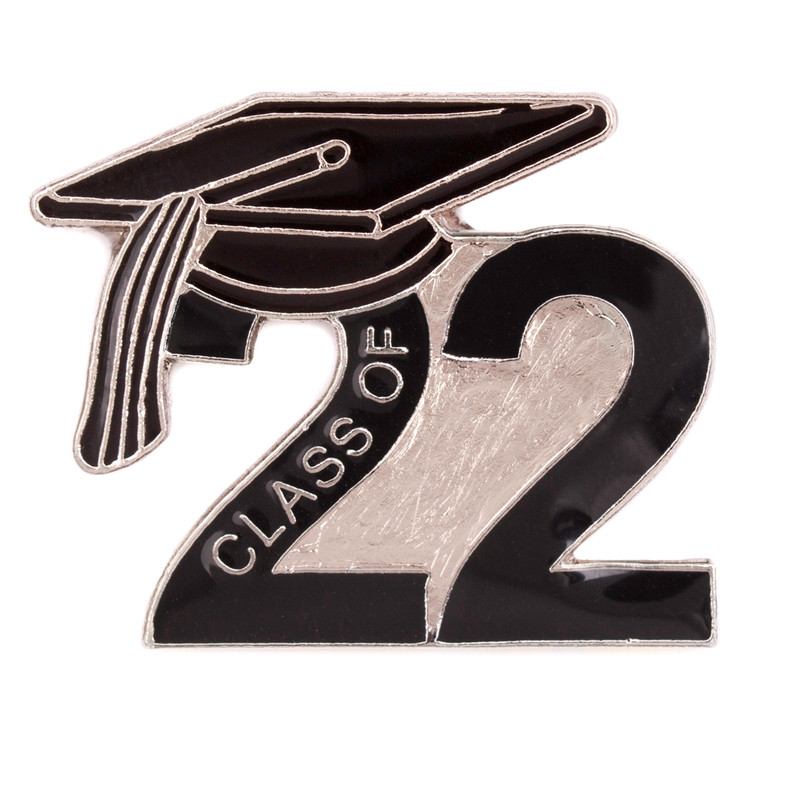 Class of 2022 Black Lapel Pin