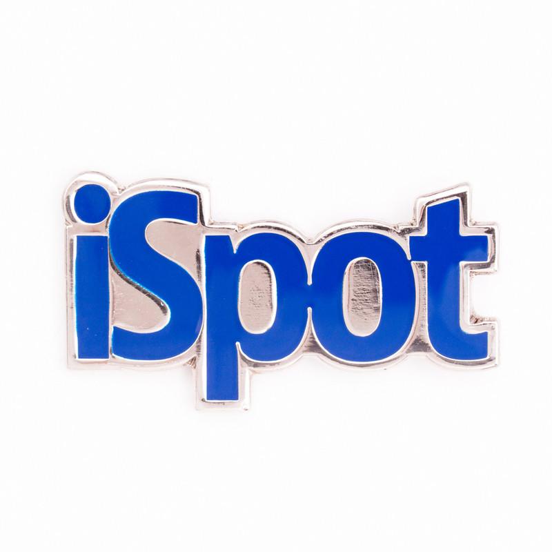 iSpot (Blue) Lapel Pin