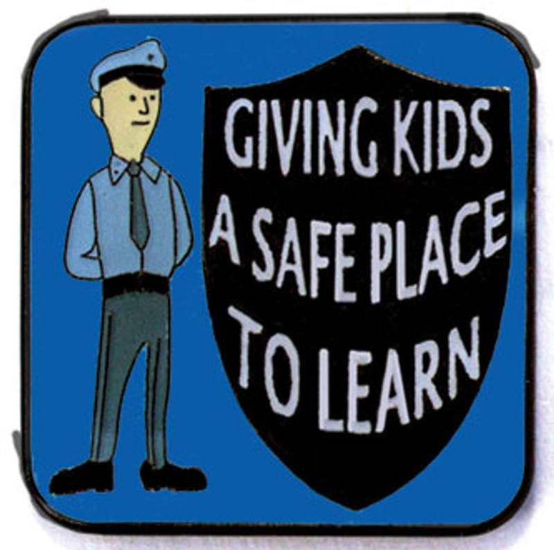 Giving Kids a Safe Place to Learn Lapel Pin