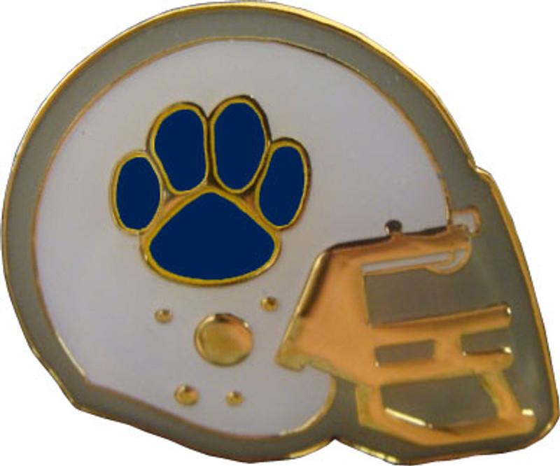 Football Helmet (Navy) Lapel Pin
